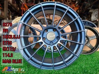 Rim Enkkei RR 18 inch FD Inspira Stream Aruz MK4 6