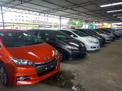 Toyota Wish 1.8 (A) MPV New UNREG