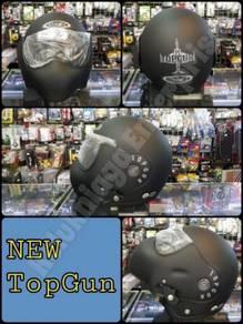 Upgrade model matt black avex jet fighter helmet