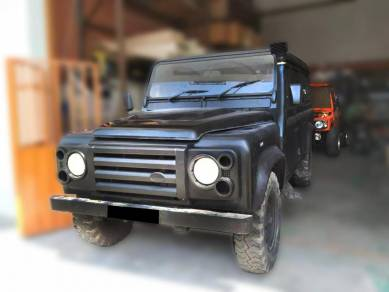 4x4, Land Rover parts, fenders, spoilers & snorkel