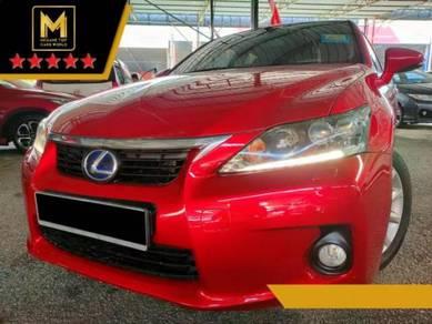 2014 Lexus CT200 1.8 h LUXURY (HYBRID) (A)