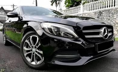 2016 Mercedes Benz C200 2.0 Avantgard F/S/R 50k.KM