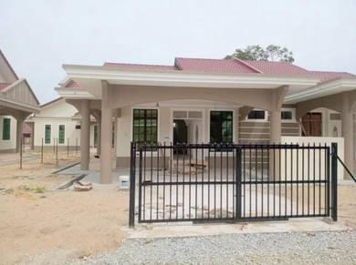 Rumah Semi-D 1 tingkat di shell kg.Raja Besut
