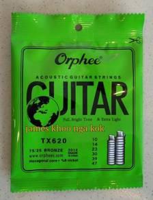 Acoustic Guitar Strings Orphee TX620