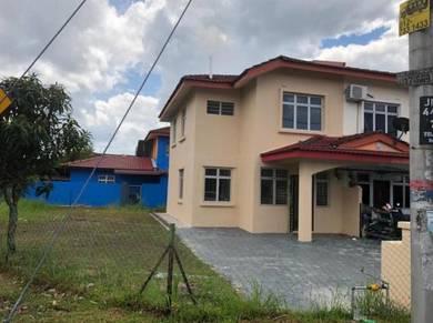 Corner Double Storey Medium Cost House at Taman Nusantara