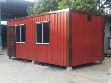 Low cost insulated cabin