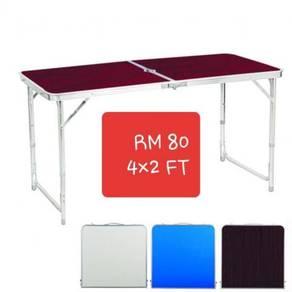 Meja Lipat Foldable Lipat table baru 4x2