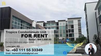 Tropics Condominium Unit For Rent