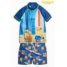 Minion kids swim wear