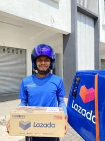 Rider memiliki motosikal di Shah Alam