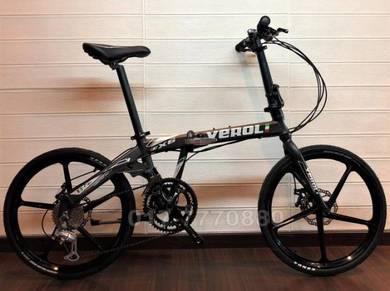 11KG VELORI SPORT RIM 16SPEED folding bike bicycle