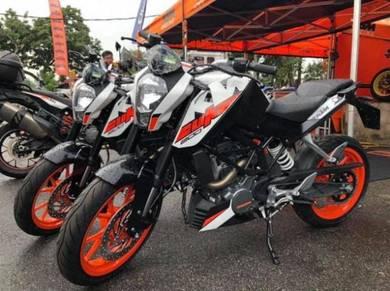 Ktm duke 200 / r15 / rc200 / r25 / ninja 250 y150