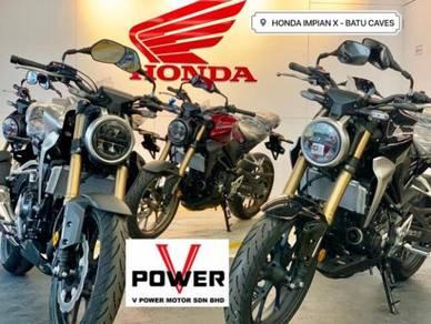 Honda CB 250 (Harga Murah) Senang Lulus