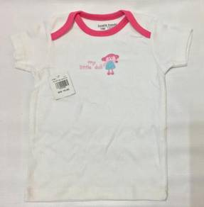 Luvable Friends Baby Girl Shirt (My Little Doll)