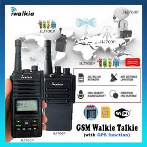 Sim Card Walkie Talkie iWalkie HJ700P HJ760P