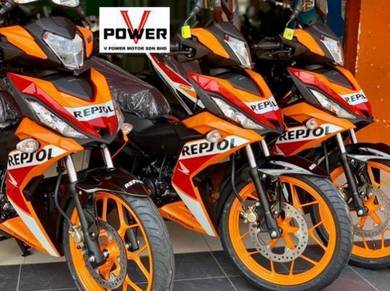 RS150 REPSOL (Ready stock) FULL LOAN COME APPLY