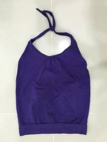 Purple Halter Neck Top ~ FREE SHIPPING