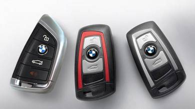 Genuine BMW F Remote Key FOB with Trim Colour