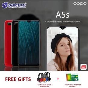 "OPPO A5S (6.2"" WATERDROP |3GB RAM)MYset + 2 HADIAH"