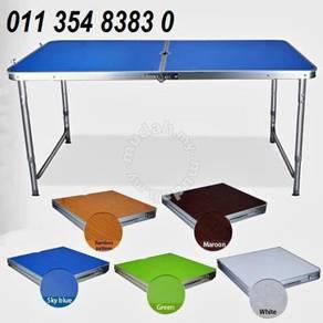 Meja lipat camping table cod 4x2