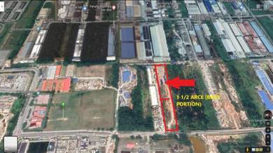 1 1/2 acres Agricultural Land(Industrial Zoning) Nearby Top Glove Meru