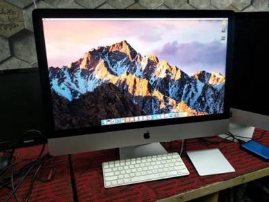 """IMac 27"""" Slim 32GB RAM Boleh Tradein Laptop"""