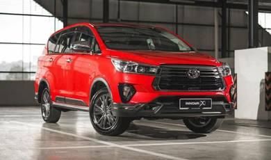 2021 Toyota INNOVA X Auto 2.0L (7 Tempat Duduk)