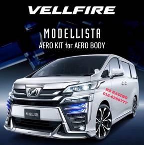 VELLFIRE 18 AERO 30 Modellista Skirt PP body kit