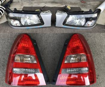 Lampu Depan Hid Tail Lamp Subaru Forester SG5 Jpn