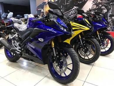 Yamaha r15 promosi kedai new model