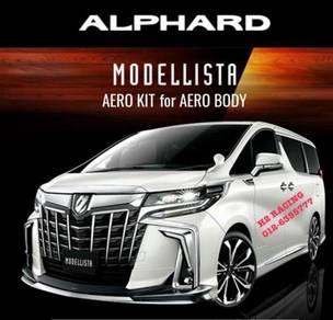 ALPHARD 18 AERO 30 Modellista Skirt PP body kit