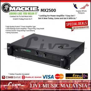Mackie MX-2500 1500W Pro Power Amp (MX2500)