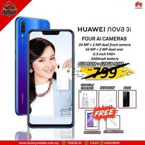 PROMOSI> huawei nova 3i [ 4 128gb ] New gift