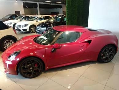 Recon Alfa Romeo 4C Spider for sale