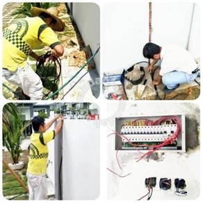 Pakar elektrik , wiring, cctv, plumber ,cat rumah