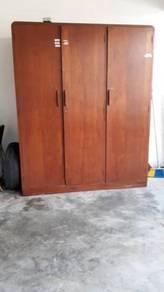Almari Jati/Teak wood Cupboard
