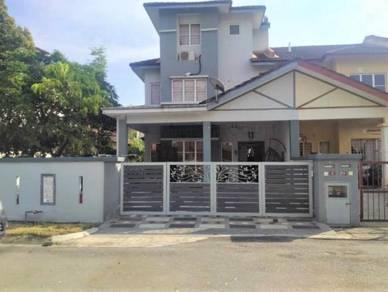 END LOT EXTRA LAND   2.5 Storey Terrace House Taman Aman Putra Puchong