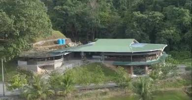 1.86 Acres Land with Retreat House (Perpetuity) at 24th Mile, Serian