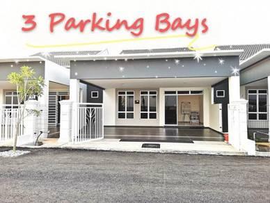 Paling LEBAR Rumah Setingkat 28x60 di KOTASAS, Bandar Baru di Kuantan
