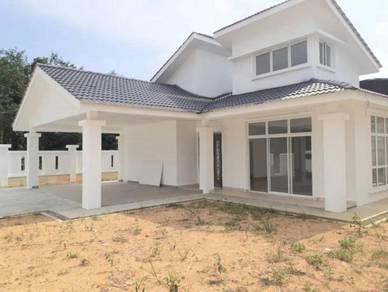 [new unit low deposit] single storey bungalow & lot unit sungai merab