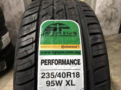 Tayar baru 235 40 18 Continental sportiva new tyre