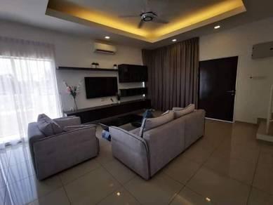 New House, Telok Panglima Garang, Bandar Rimbayu, Kemuning Selangor