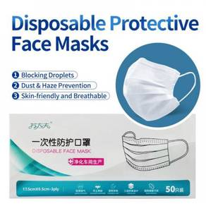 Genuine 3-ply Face Mask Ready Stock