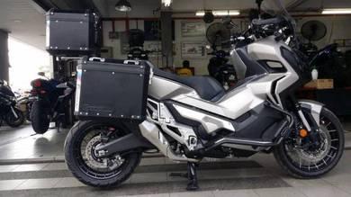 GSADV Side Top Box Aluminium ~ Honda X-Adv 750