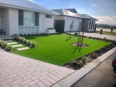 Artificial grass and Rumput Tiruan