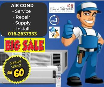 24hrs promotion *aircond air cond kl/sel (mon-sun)