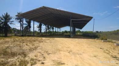 Roadside Land & shed along Jalan Sulaman (Near Tuaran Crocodile farm)