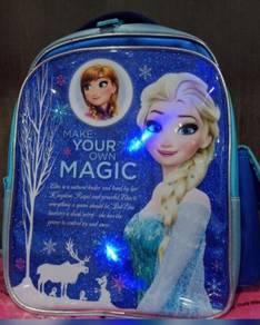 Disney Frozen LED Pre School Bag