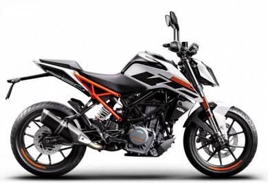 KTM Duke 390 2019 with Digital Bluetooth Meter