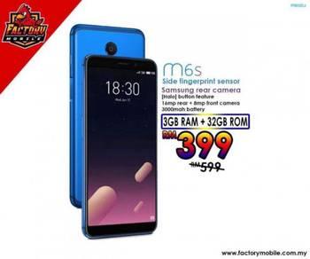 Meizu M6S [3GB+32GB] Original New 12bulan jaminan